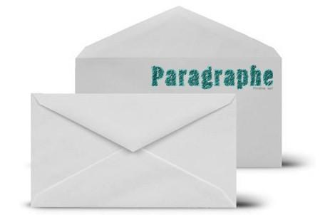 Enveloppe Paragrapge